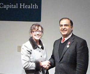 Dr. Kevork Peltekian - Diamond Jubilee Award Feb 2013